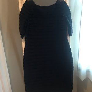 Adrianna Papell little black dress. Size 14
